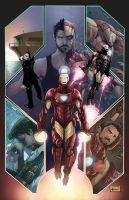 Commission - Iron Man Poster by AenTheArtist