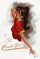 Wonder Girl by artist2point5
