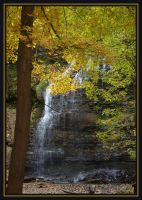 autumns waterfall by AuTuMn-Lee