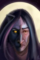 PantherSnape by Natalliel