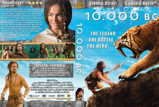 10.000 BC Cover DVD ver.2 by michael160693