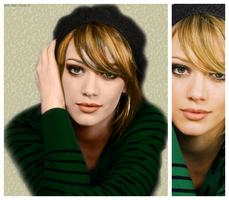 Hilary Duff_Colorize by holyGIRL88