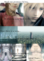 Cloud and Aerith by Jesus1st-Anime2nd