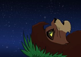 kovu watch the sky by karlijnlovesart