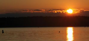 Puget Sound Sunset by crazyal154