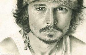 Johnny Depp by DannyLovesArt