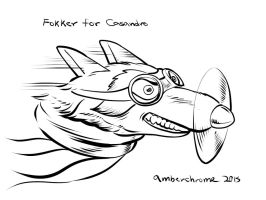 Fokker for Casandro by amberchrome