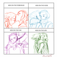 Edny Cute Kiss Meme by BloodnSpice