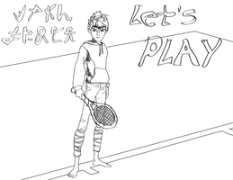 Jack Frost Let's Play Tennis by MetalJacksonFire