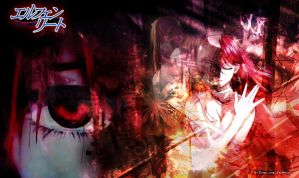 Elfen Lied - Stained Fate by AnyaReii