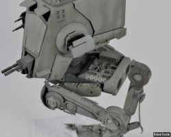 Command AT-ST kill markings and engine by Unreality86