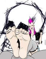 Bootless Punk Mambo by sandrock74