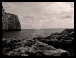 Mtahleb cliff view by jamescut