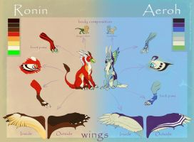 Aeroh - Ronin Color ref by majesticalparade