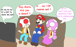 TR 57 - Mario isnt very tall... by Mloun