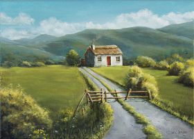 Irish Country Cottage by AcridMonkry