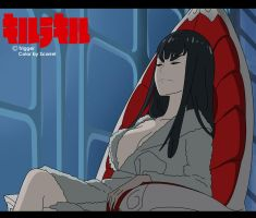 Satsuki Relaxed by DeathScarrel