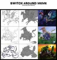 switch around meme by Silverbloodwolf98