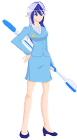 Colgate Minuette (Humanized) by JonFawkes