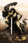 Conan by Buscema by kirisute
