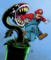 Mario by craigcermak