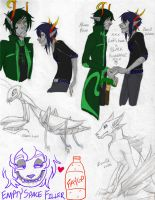 FanTrolls: Sketches by ElectroPorn