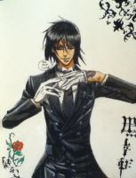 I'm simply, one HELL of a butler~ by Tsuzukitheshinigami1