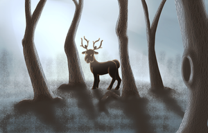 Stantler by MeganElf
