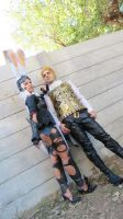 Balthier and Fran 06 by drkitsune