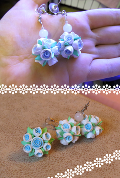 Earrings and ring for my mom by ramrin