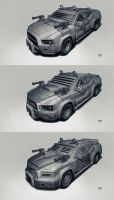 Postapo cars - Sedan by hunterkiller