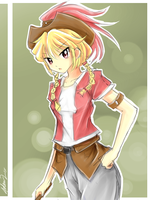 Sketch. Cow Girl ? by mysticswordsman21