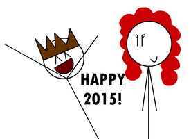 Happy 2015! by Sonicyay2