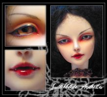 Vampire Lishe faceup by suzy-switchblade