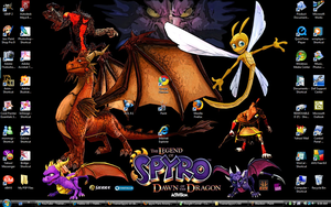 Current Desktop: DotD by TrainerSpyro