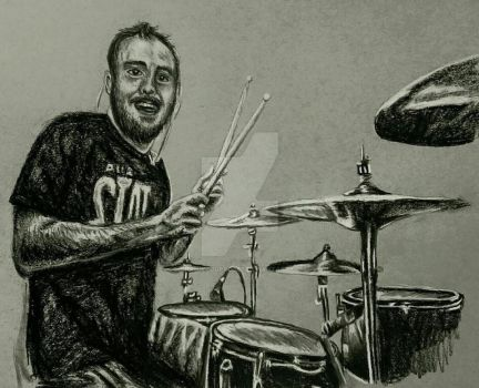 Charcoal - Patrick Foley (As It Is) by ThrowYourRoses