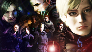Resident Evil 6 by AlbertXExcellaLover