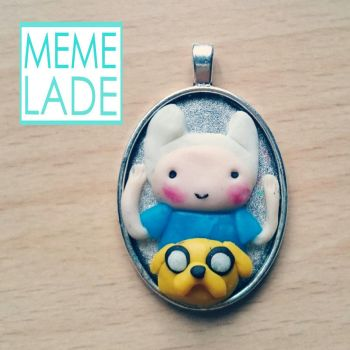 Adventure Time Necklace by Memelade