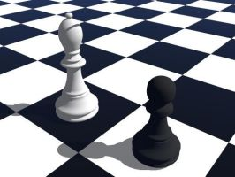 My first 3DS objects - chess by gadren