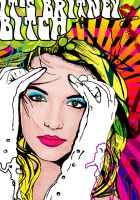Britney spears- Pop-art poster by tbubicans