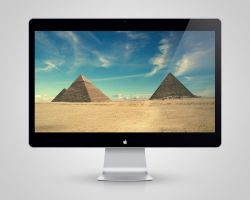 Pyramids Wallpaper by drumzrtight