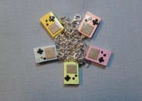 Bracelet: Pastel Gameboys by okapirose