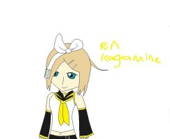 Kagamine Rin by Shadowismrevilgecko