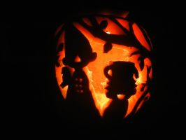Over the Garden Wall Pumpkin by Friendlyfoxpal