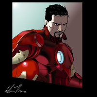 Tony Stark by HarvesterOfDreams