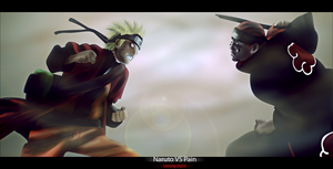 - Naruto VS Pain - by Sinist3r-Depht