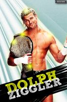 Dolph Ziggler Poster by MarcusMarcel