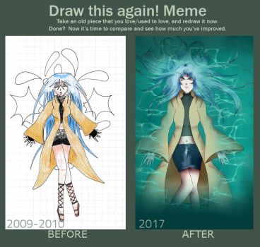 Draw This Again Meme 2017 by Bad-Chocola94