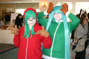 Matryoshka Gumi and Miku by GothicChii989