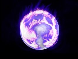 Burning Moon by peppy-heppy